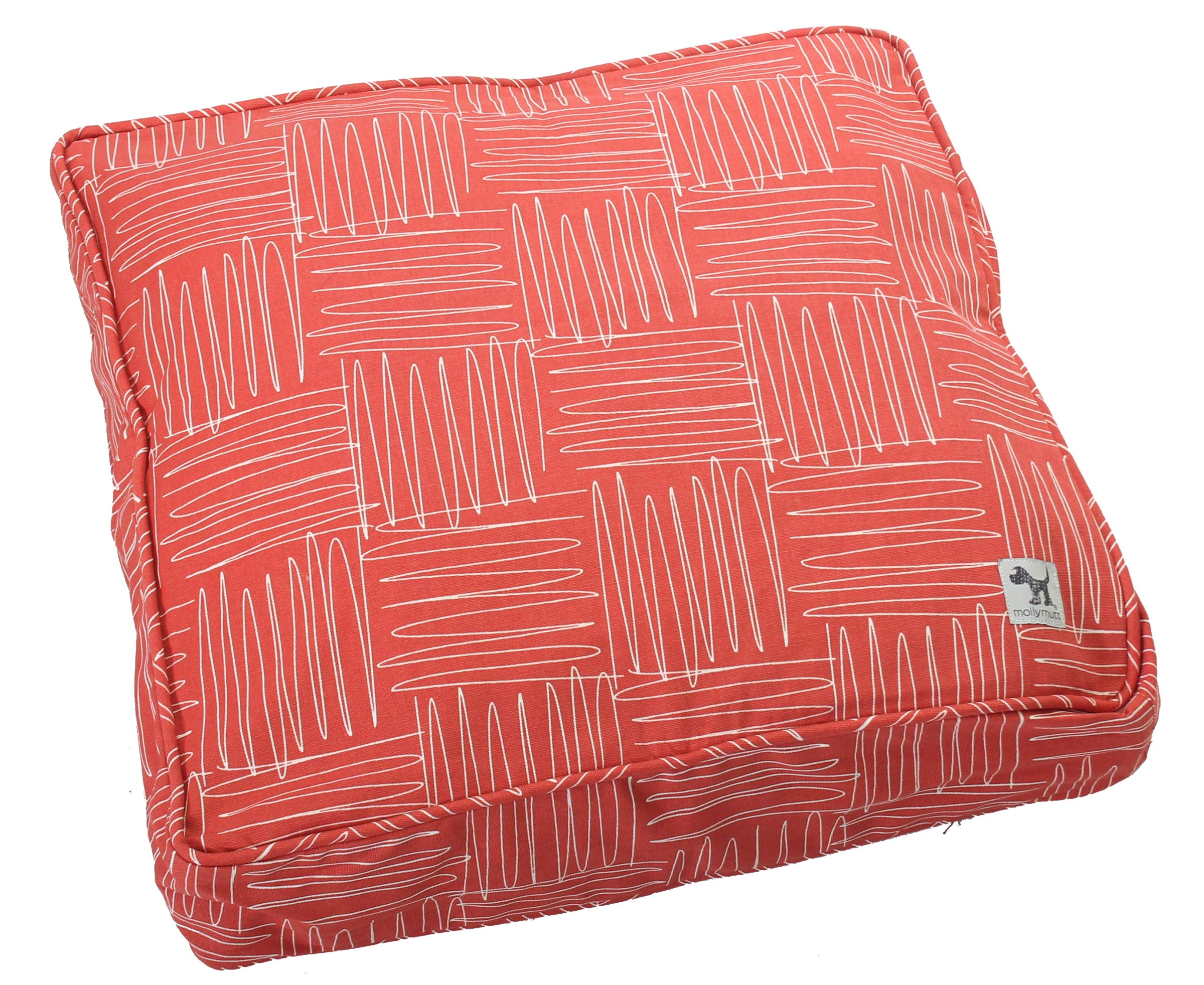 Molly Mutt Jitterbug Dog Bed Duvet Cover, Huge - 100% Cotton, Durable, Washable by Molly Mutt