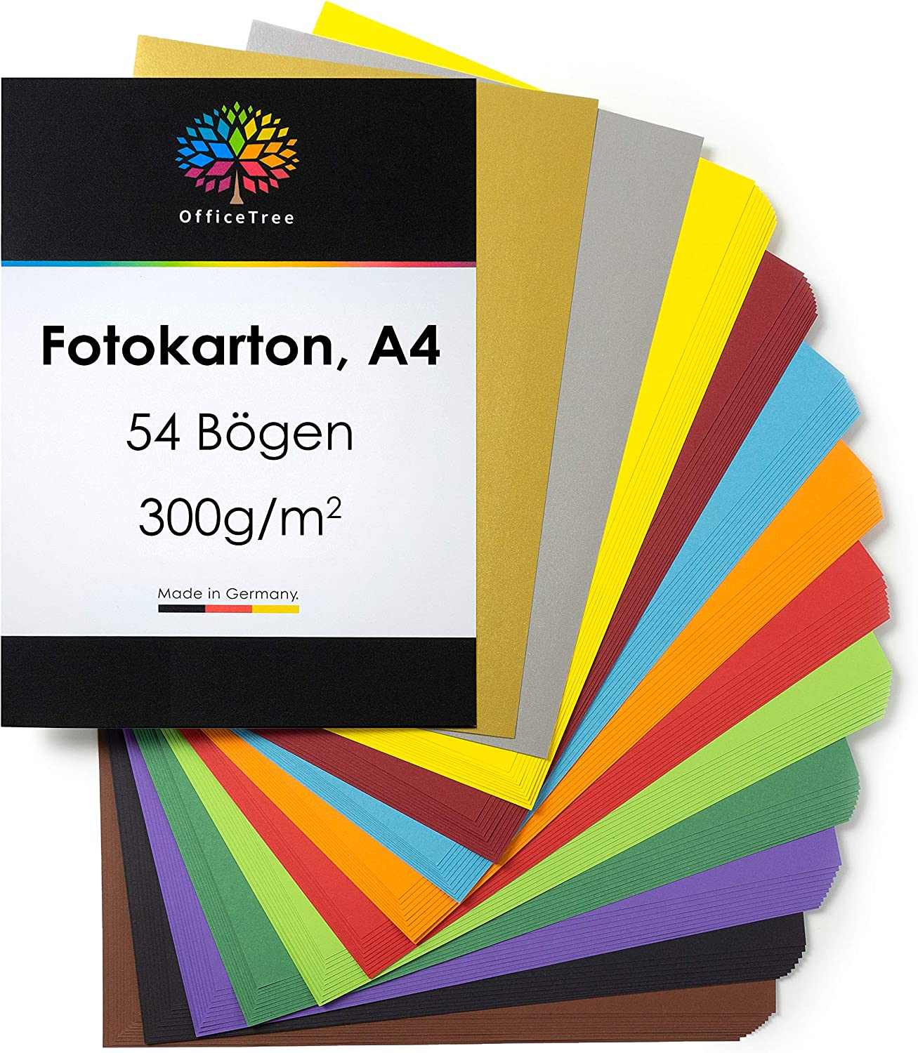 300gsm card coloured