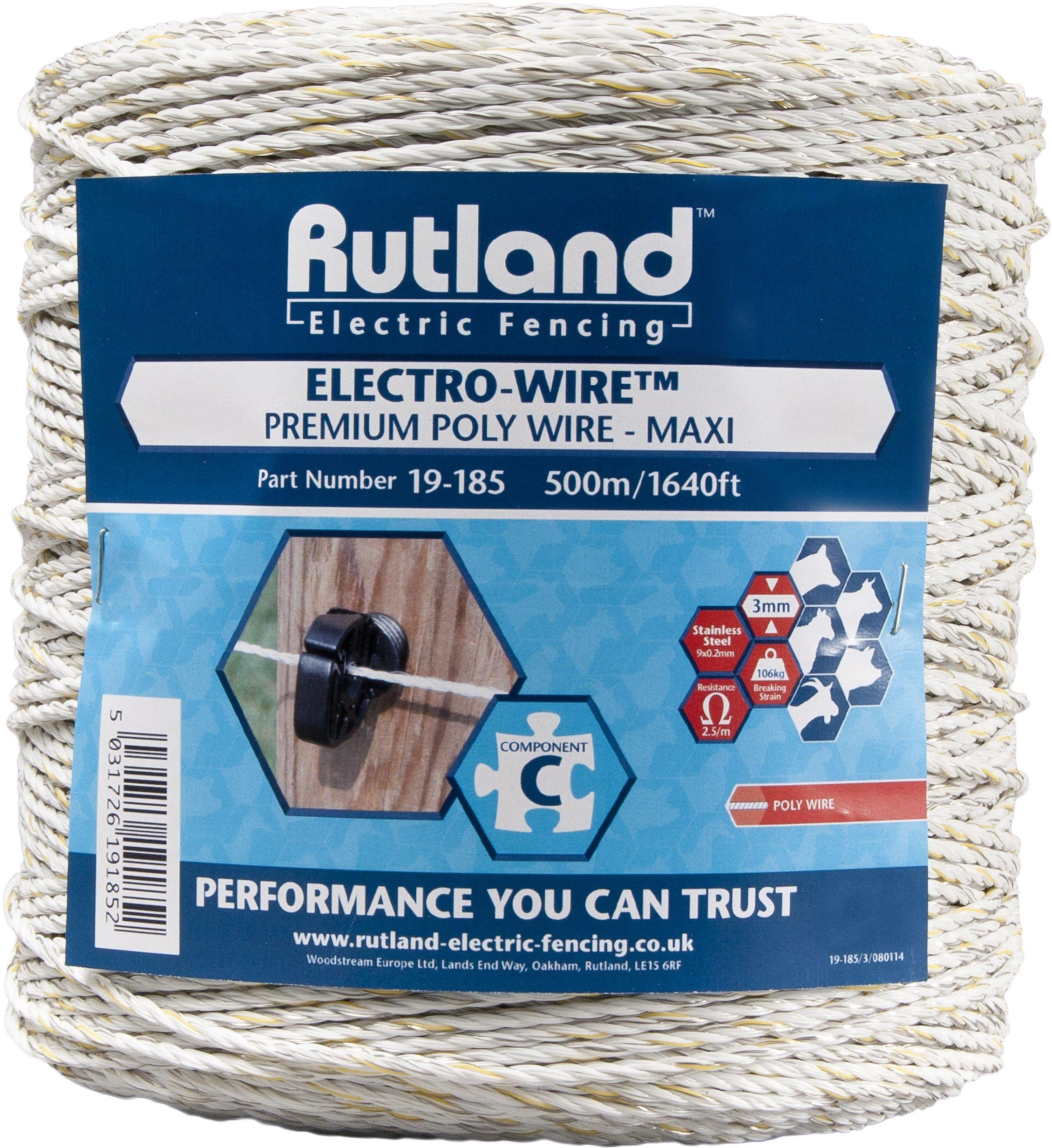 Rutland Maxi Elektrodraht 19–185R White