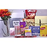 Get Well Gift Box Basket - For Surgery / Injury / Cold / Flu / Illness - Over 2 Pounds of Care, Concern, and Love in This Care Package - Send a Smile Today!