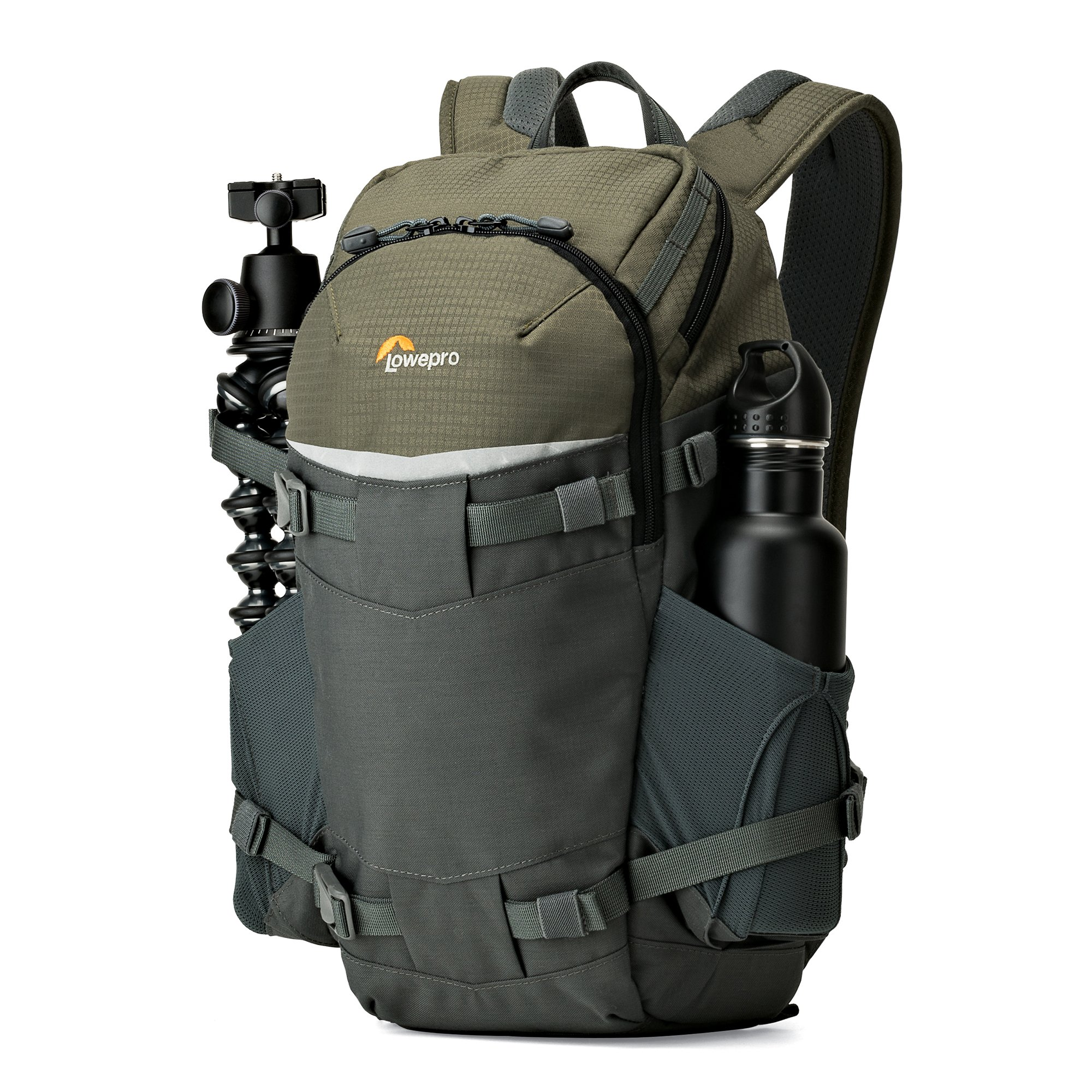 Lowepro Flipside Trek BP 250 AW - Outdoor Camera Backpack for Mirrorless or Compact DSLR w/ Rain Cover and Tablet Pocket. by Lowepro (Image #2)