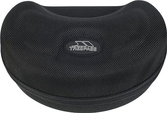 6c4d8005bf53 Trespass Boxer, Black, Ski Goggles Case with Fleece Lining, Black ...