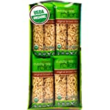 Crunchy Rice Rollers - Organic Brown rice - Gluten Free - Vegan - 0.9 oz (16 Packs of 2 Rollers)