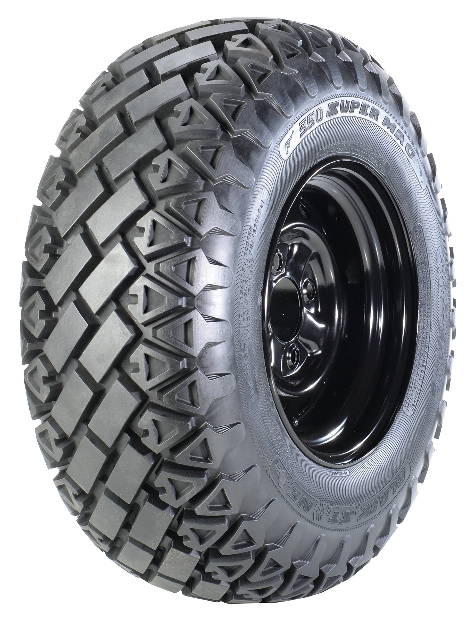 OTR 350 Super Mag 25 x 10.00-12 TIRE ONLY by OTR Wheel Engineeing, Inc