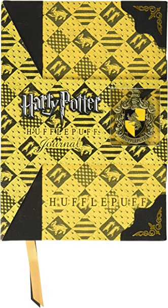 Harry Potter Noble Collection Agenda Diario con Stemma Tassorosso