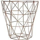 Premier Housewares Vertex, articoli per la casa in rame placcato, metallo, Copper, 31 x 31 x 31 cm