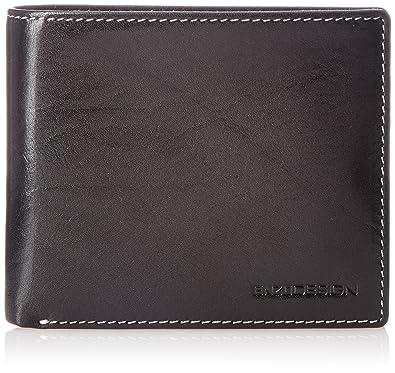 brand new 1e438 148e4 Amazon | [エンゾーデザイン] イタリアンレザー二つ折り財布 ...