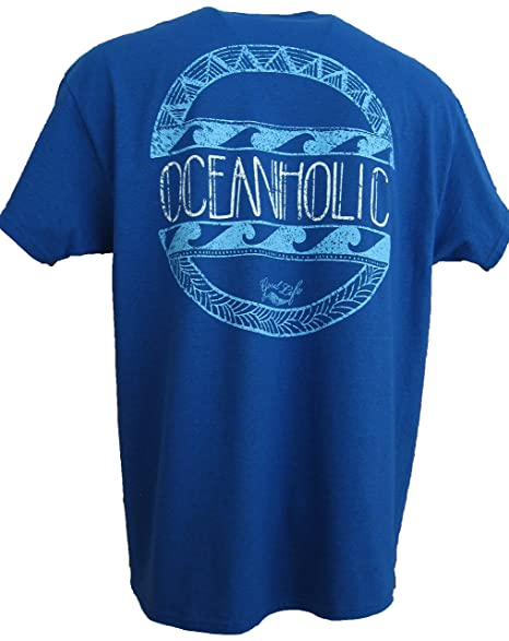 4e2c9009d750e9 Amazon.com  Good Life Men s Oceanholic Beach Surfing T-Shirt ...