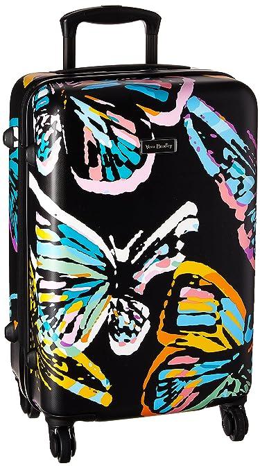 daa42cc3d754 Amazon.com  Vera Bradley Hardside Small Spinner Suitcase