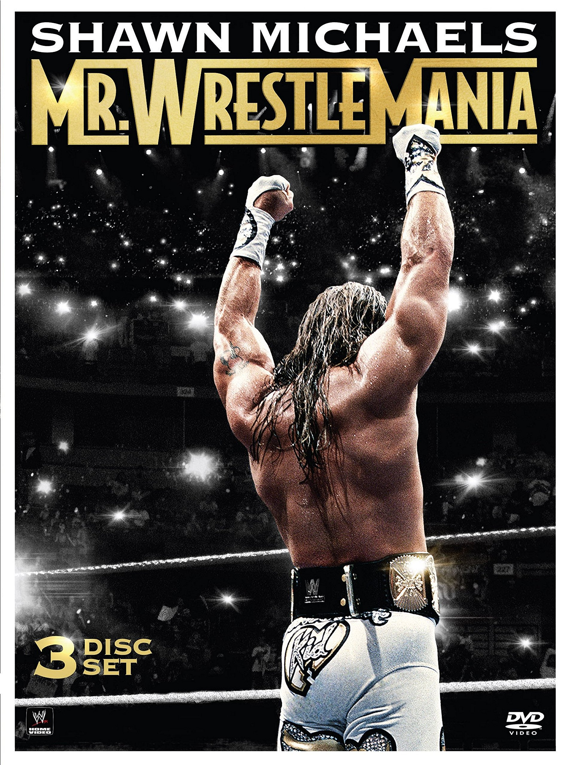 DVD : Shawn Michaels: Mr. Wrestlemania (3 Disc)