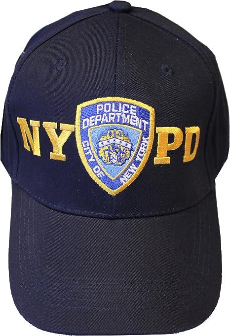 NYC FACTORY NYPD - Gorro de béisbol (Talla única), Color Azul ...
