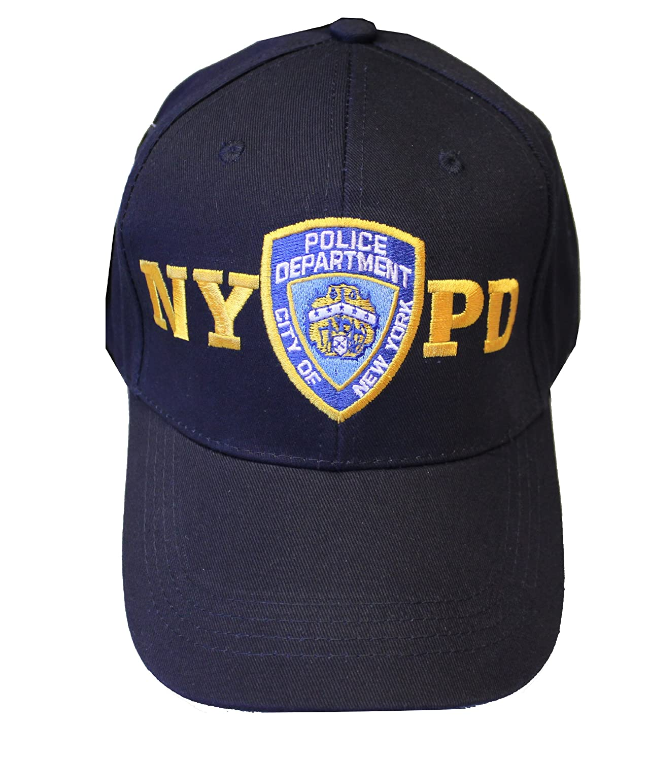 NYPD Junior Kids Baseball Hat Police Department of New York Navy Blue Boys 98302