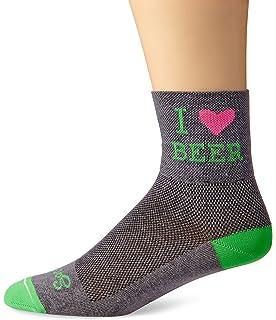 SockGuy Mens Heart Beer Socks