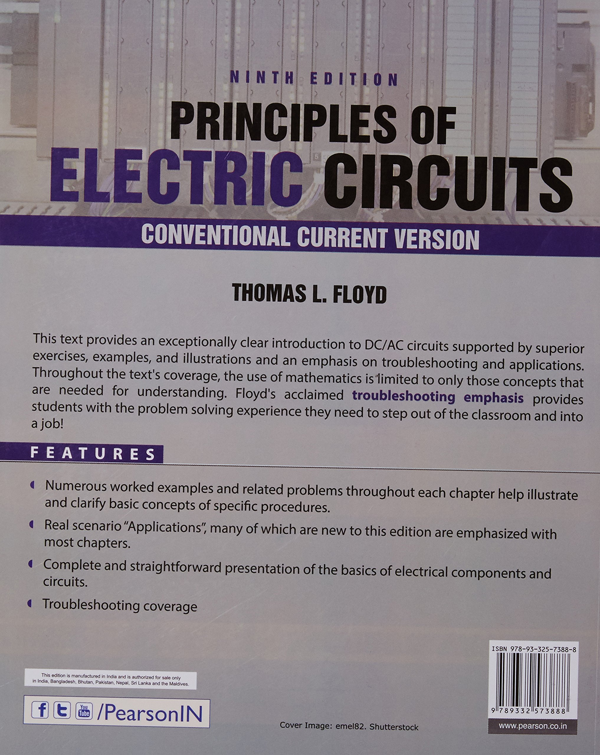 Principles Of Electric Circuits 9ed Floyd 9789332573888 Amazon Circuit App For Windows In The Store Books