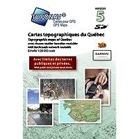 Toponav Carte topographique du Québec Version 5