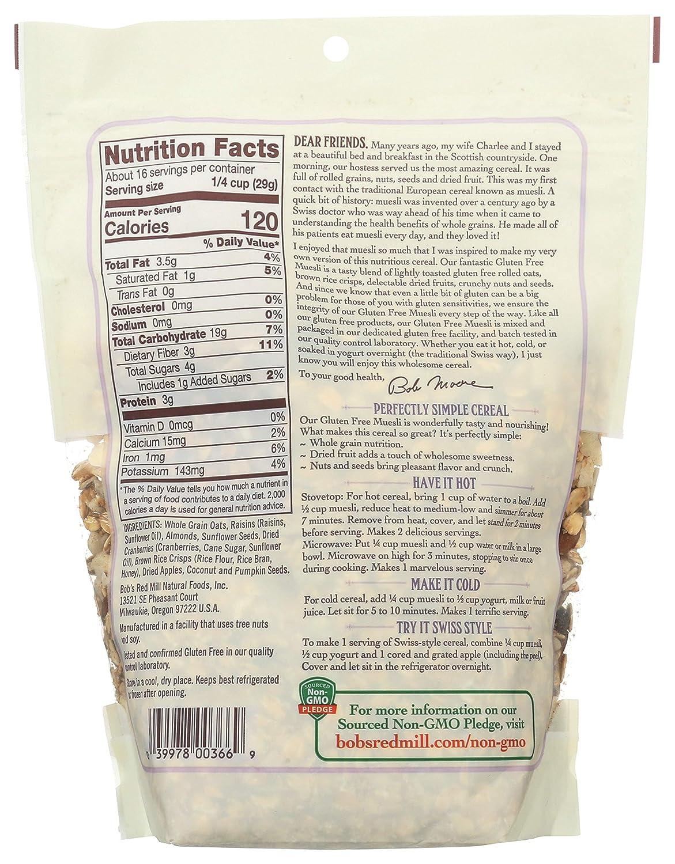 Cereal Muesli sin gluten: Amazon.com: Grocery & Gourmet Food