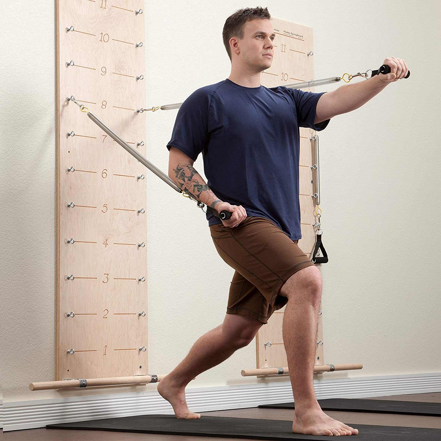 balanced body Pilates Springboard Exercise Equipment for The Home Studio and More
