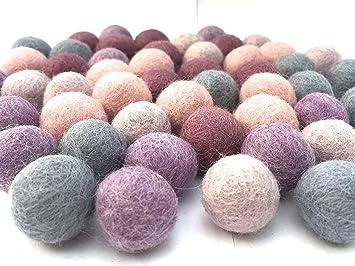 b801d3ad53 Colección llena de color de 50 bolas de fieltro  quot Jubilación Mix quot   de 2