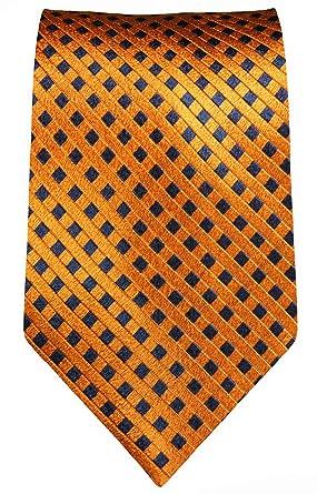 Paul Malone corbata de seda ancho 6 cm (Normal largo y extra largo ...