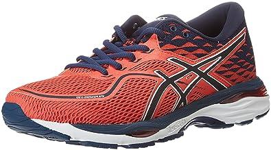 ASICS Men's Gel Cumulus 19 Training Shoes, Red (Coralicious Dark Blue 3049), 9 UK 44 EU