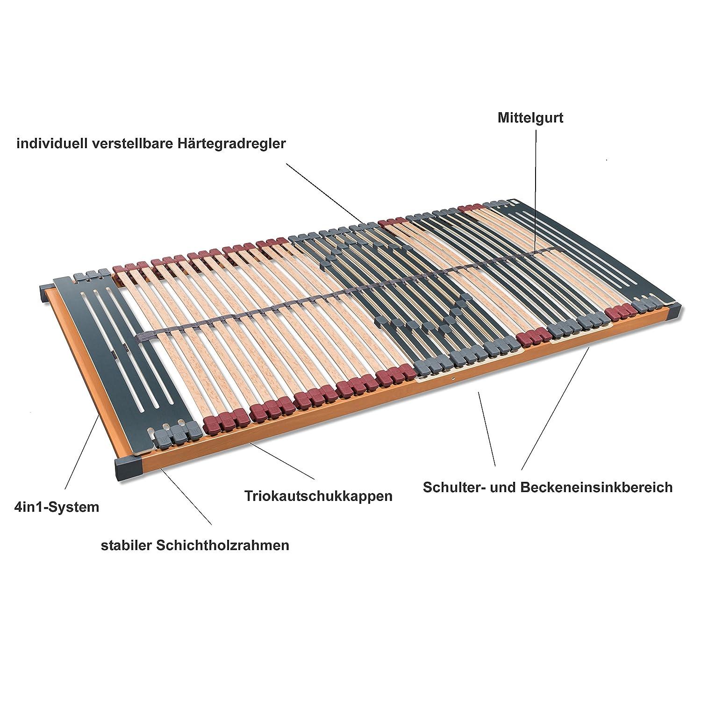 FMP Matratzenmanufaktur Lattenroste, Lattenroste, Lattenroste, buche, Natur, 90 x 200 cm 4cc469