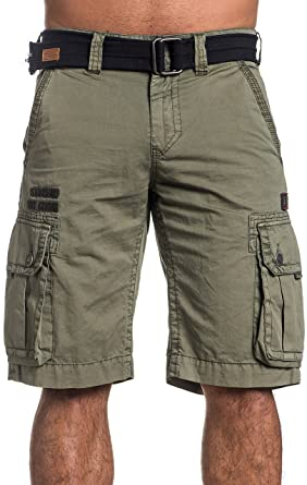 dc3d455e161 Affliction Windtalkers Cargo Shorts at Amazon Men's Clothing store: