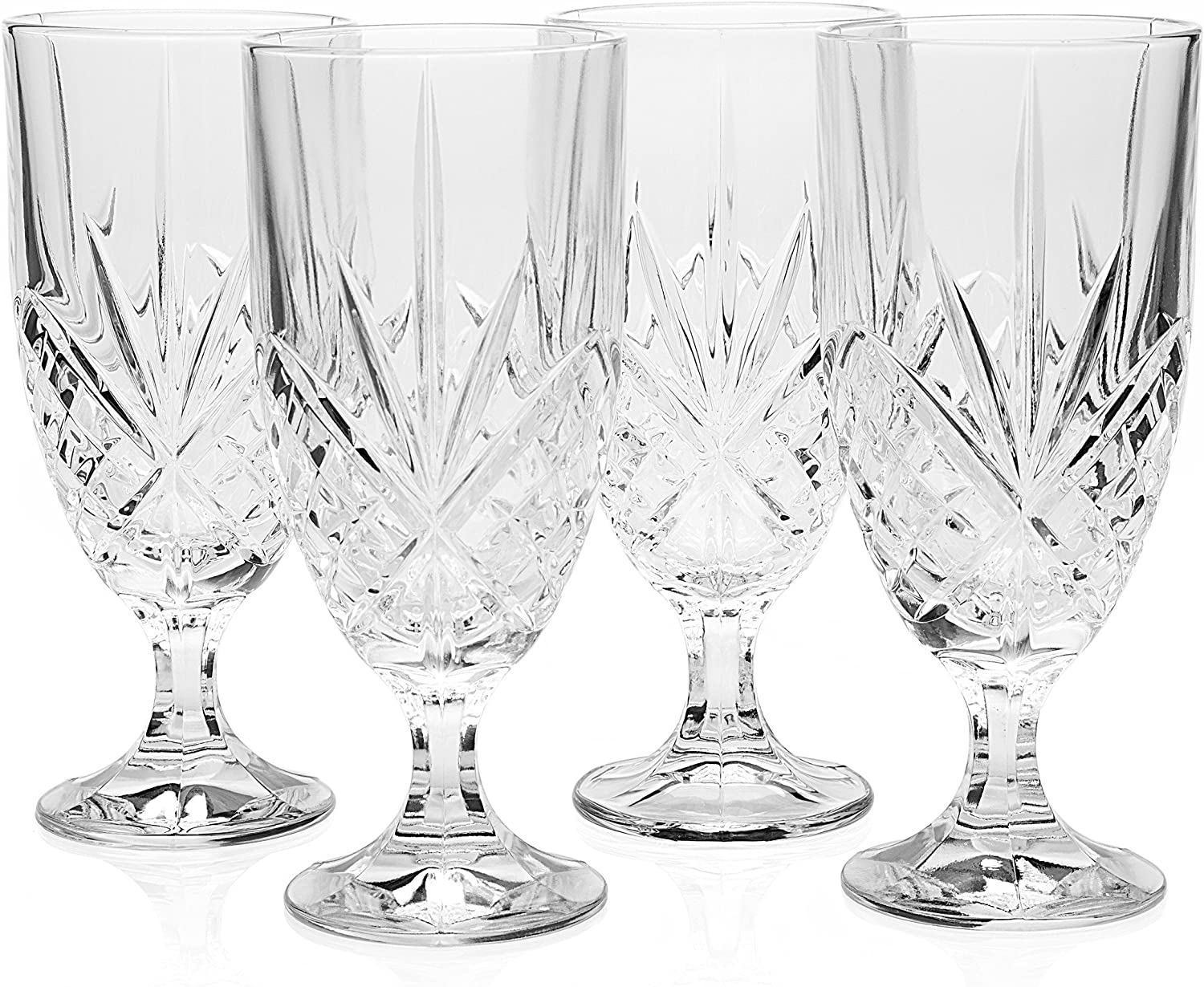 Godinger Dublin Set of 12 Iced Beverage Glasses