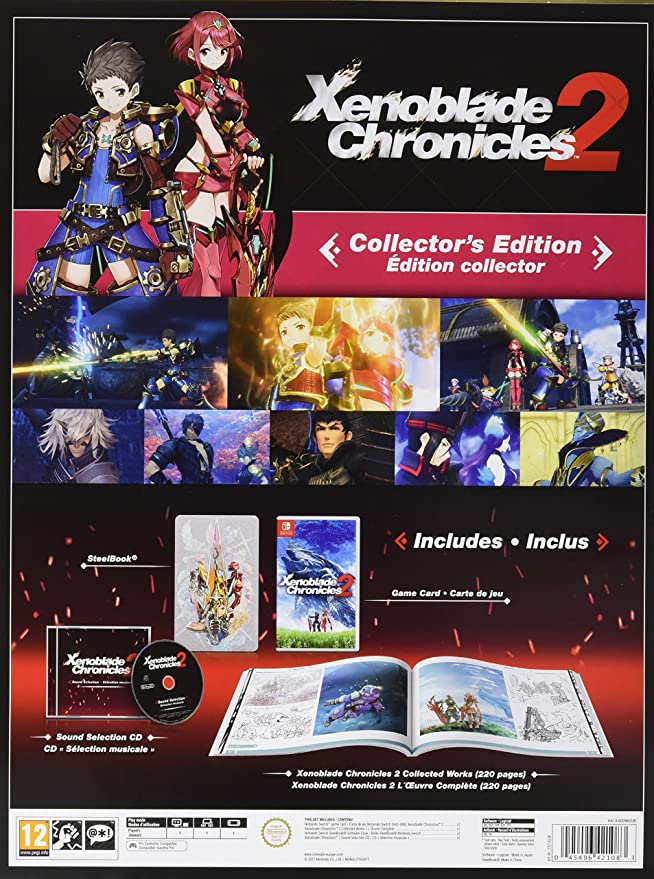 Xenoblade Chronicles 2 - Edición Limitada: Amazon.es: Videojuegos