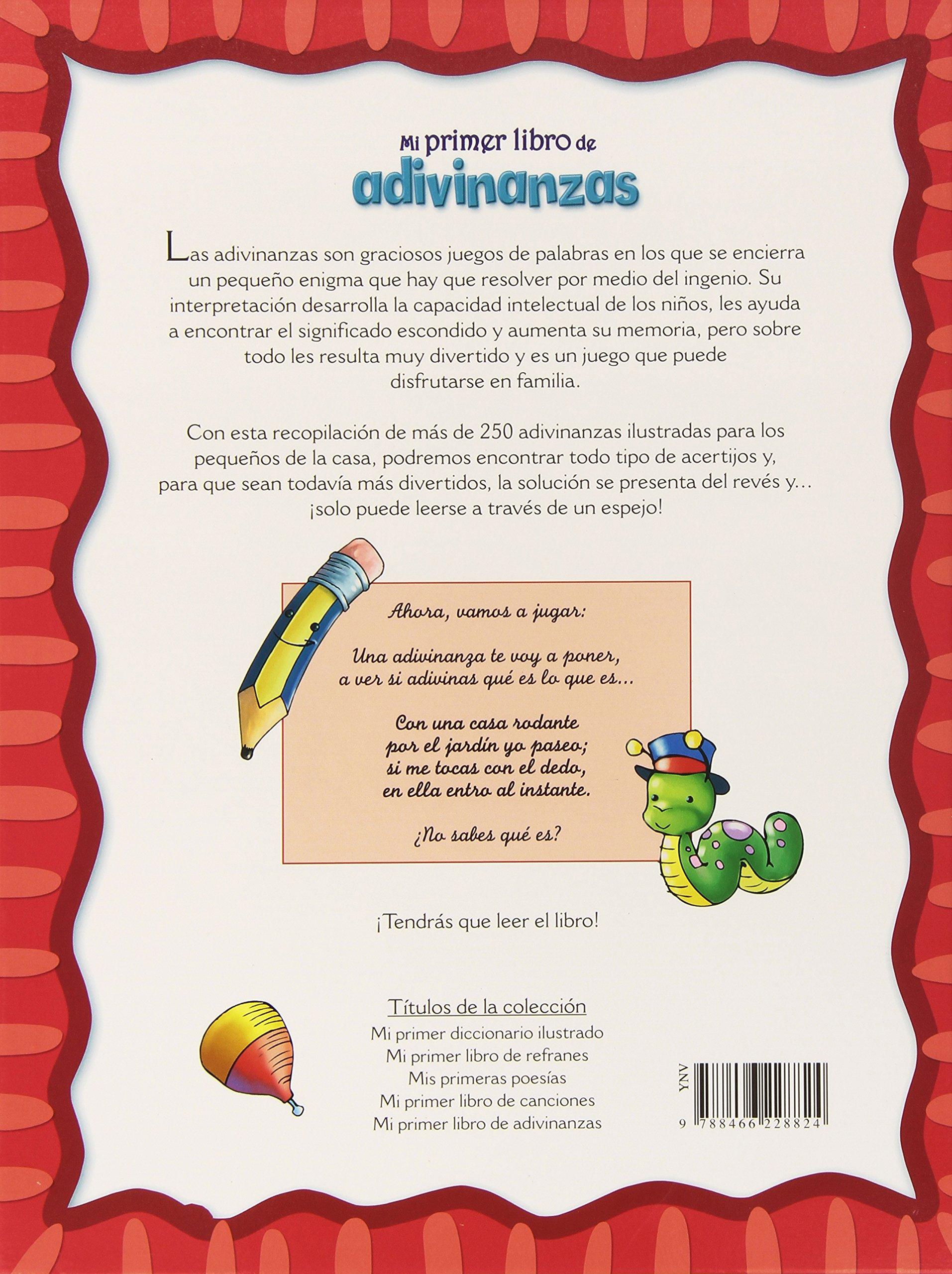 Mi Primer Libro de Adivinanzas (Punto de lectura): Amazon.es: Pérsico, Lucrecia: Libros
