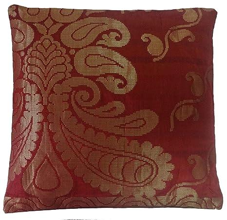 SAFFRON - Funda de cojín Decorativa para Cama, diseño de ...