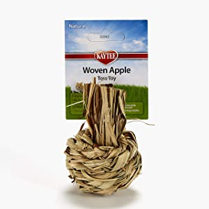 Kaytee Natural Sisal Woven Apple Toy