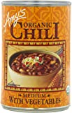 Amy's Organic Chili, Medium with Vegetables, 14.7 Ounce (Pack of 12)