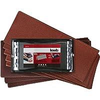 5Blatt von P800 Klingspor Wasserschleifpapier Autolack 230x280mm Schleifpapier