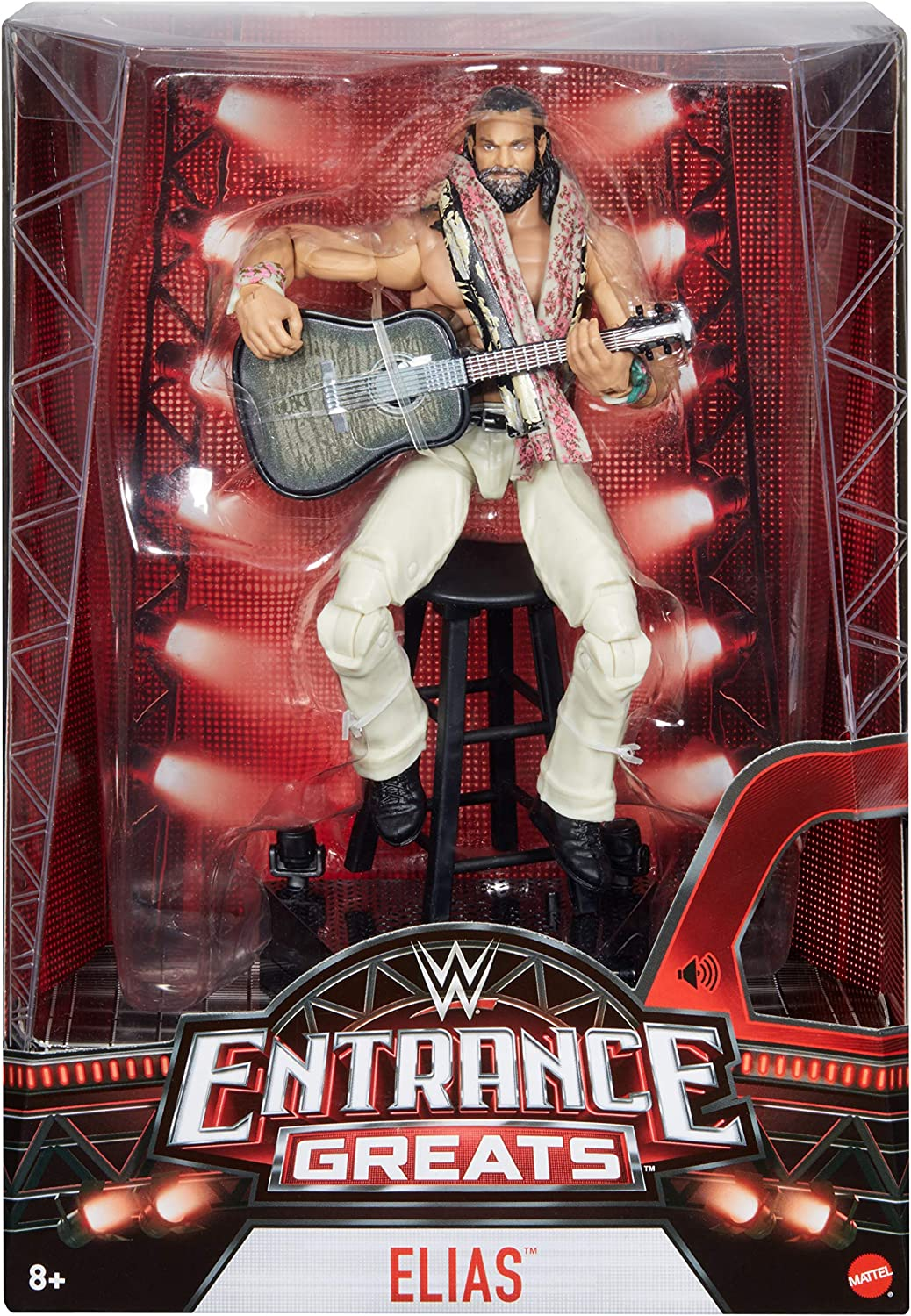 WWE Elite Collection Entrance Greats Elias Action Figure Mattel GCM99