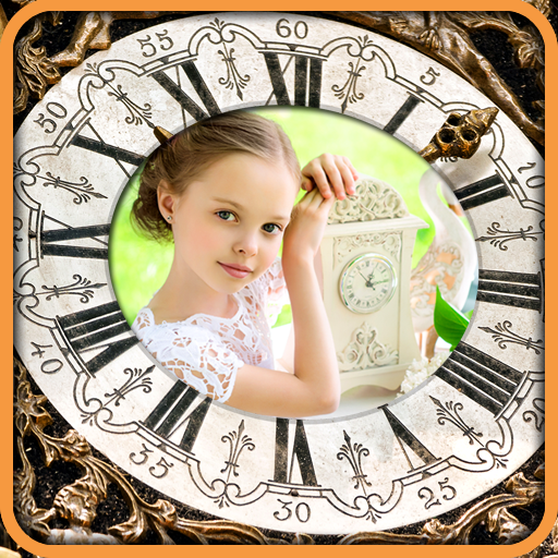 Clock Photo Frames