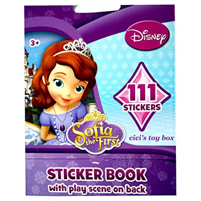 Sofia the First Sticker Book with Play Scene & 111 Stickers!: Toys & Games