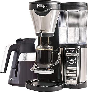 Amazon.com: Ninja - Cafetera para café caliente/picado con 4 ...