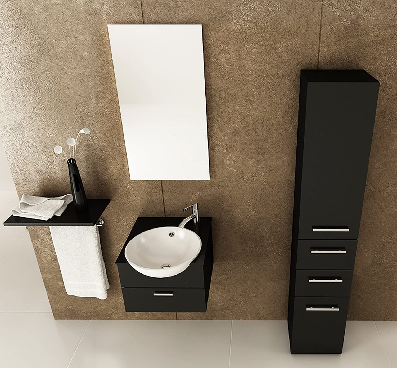 Amazoncom JWH Living Mira Single Bathroom Vanity Home Kitchen - Bathroom vanity 21 inches wide for bathroom decor ideas