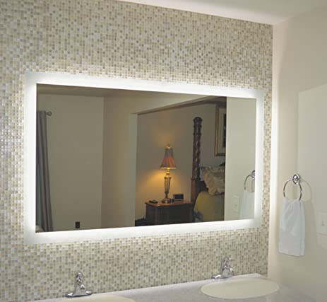Amazoncom Mirrors And Marble MAM Commercial Grade W X H - Commercial grade bathroom mirrors