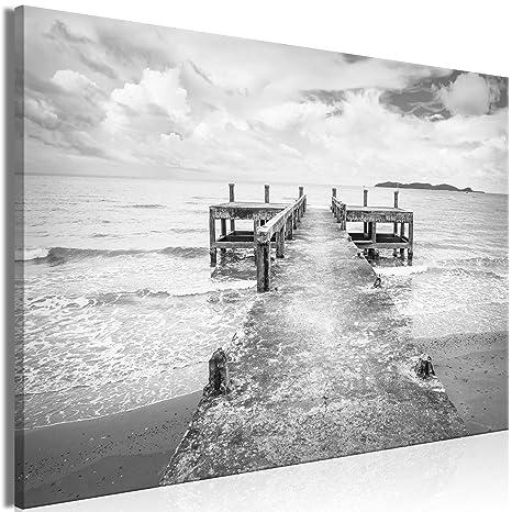 LEINWAND BILDER Strand Meer Landschaft WANDBILDER xxl Wohnzimmer KUNSTDRUCK 530