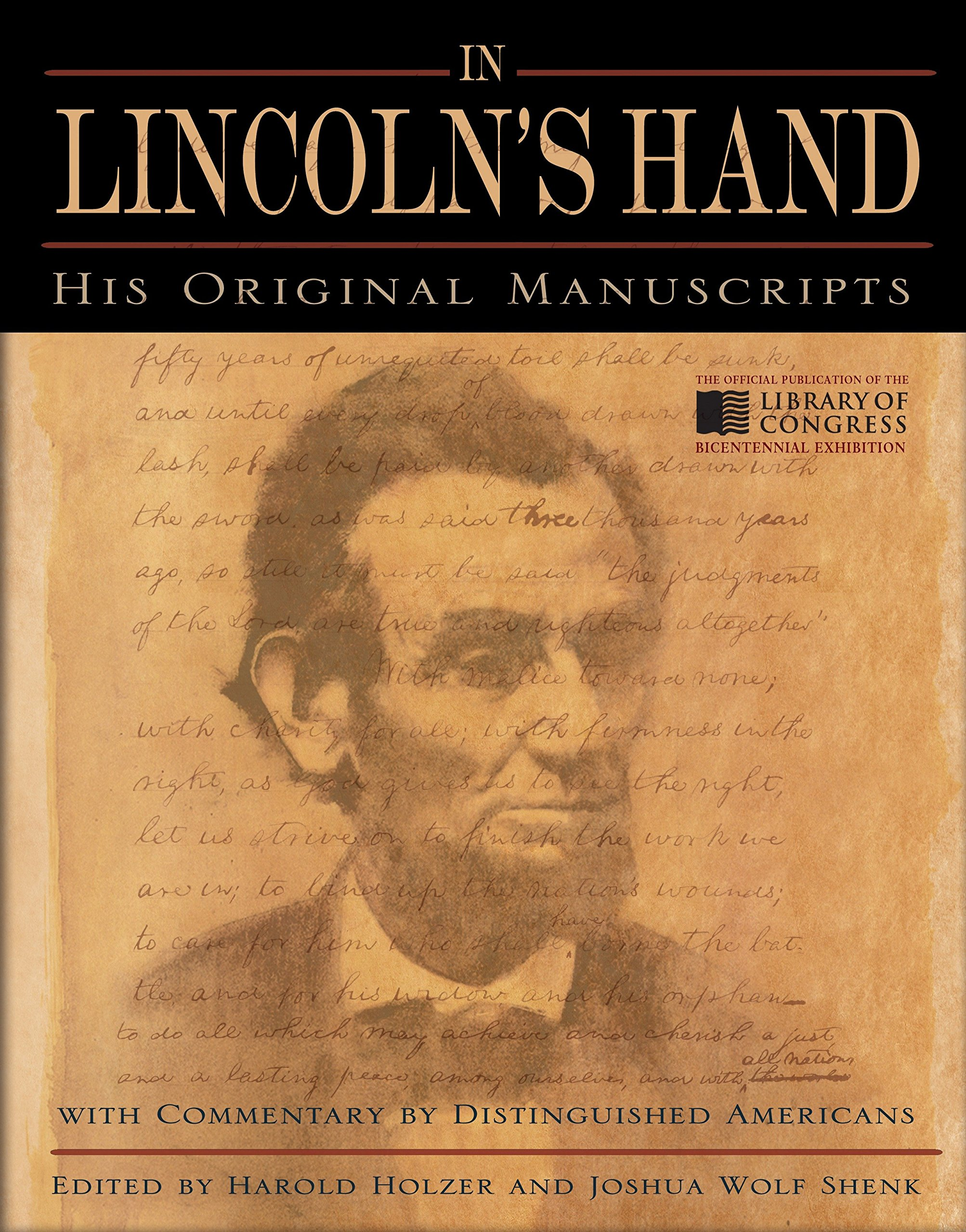 Download In Lincoln's Hand: His Original Manuscripts with Commentary by Distinguished Americans ebook