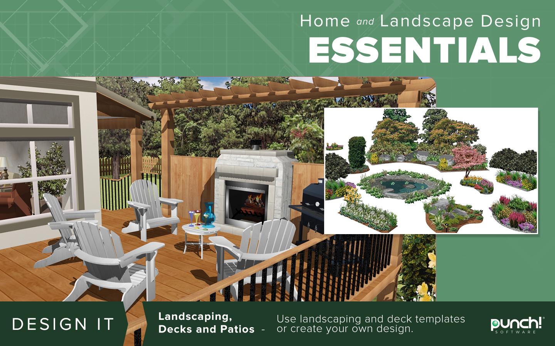 Punch Home Landscape Design Essentials V20 Download