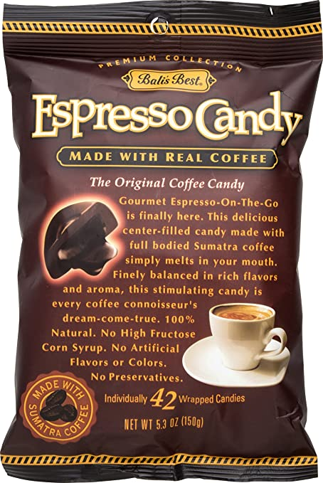 Bali's Best Espresso Coffee Candy