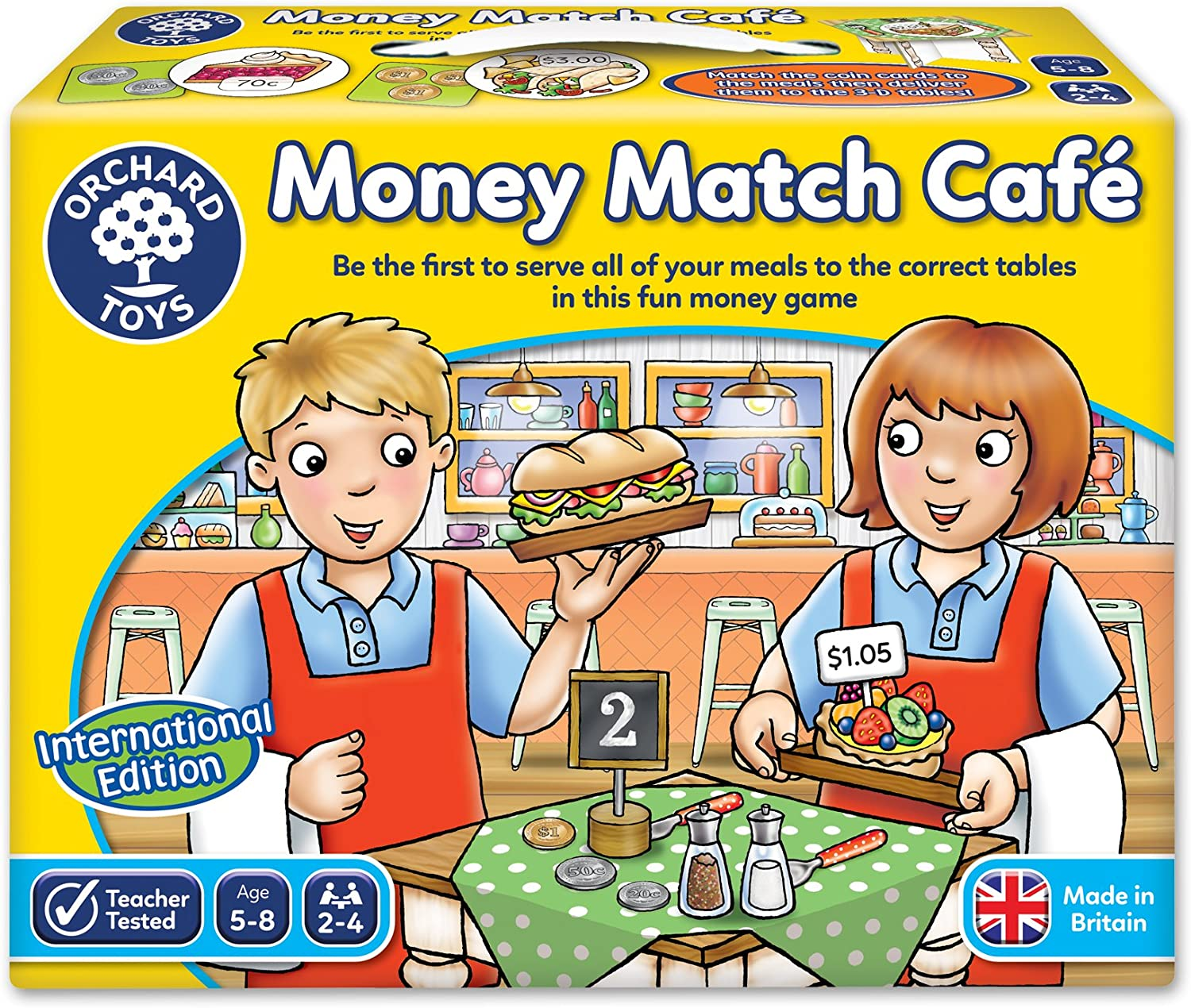 Orchard Toys Match And Spell Board Game For Boys And Girls Age 1 2 3 4 5 6 7