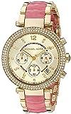 Michael Kors Women's Parker Gold-Tone Watch MK6363