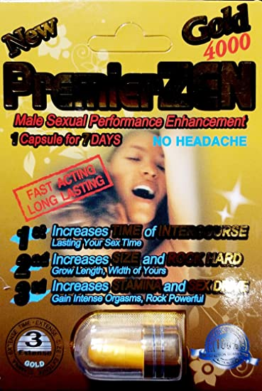 Male sexual performance enhacement