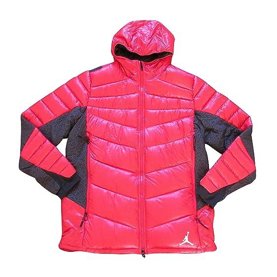 eac35594e0a13b ... nike air jordan hyperply goose down hooded winter coat 623485 parka  (XL