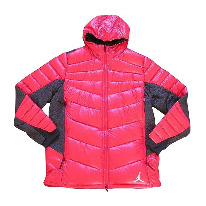 Nike - Abrigo - para hombre 695 red black extra-large: Amazon.es: Ropa y accesorios