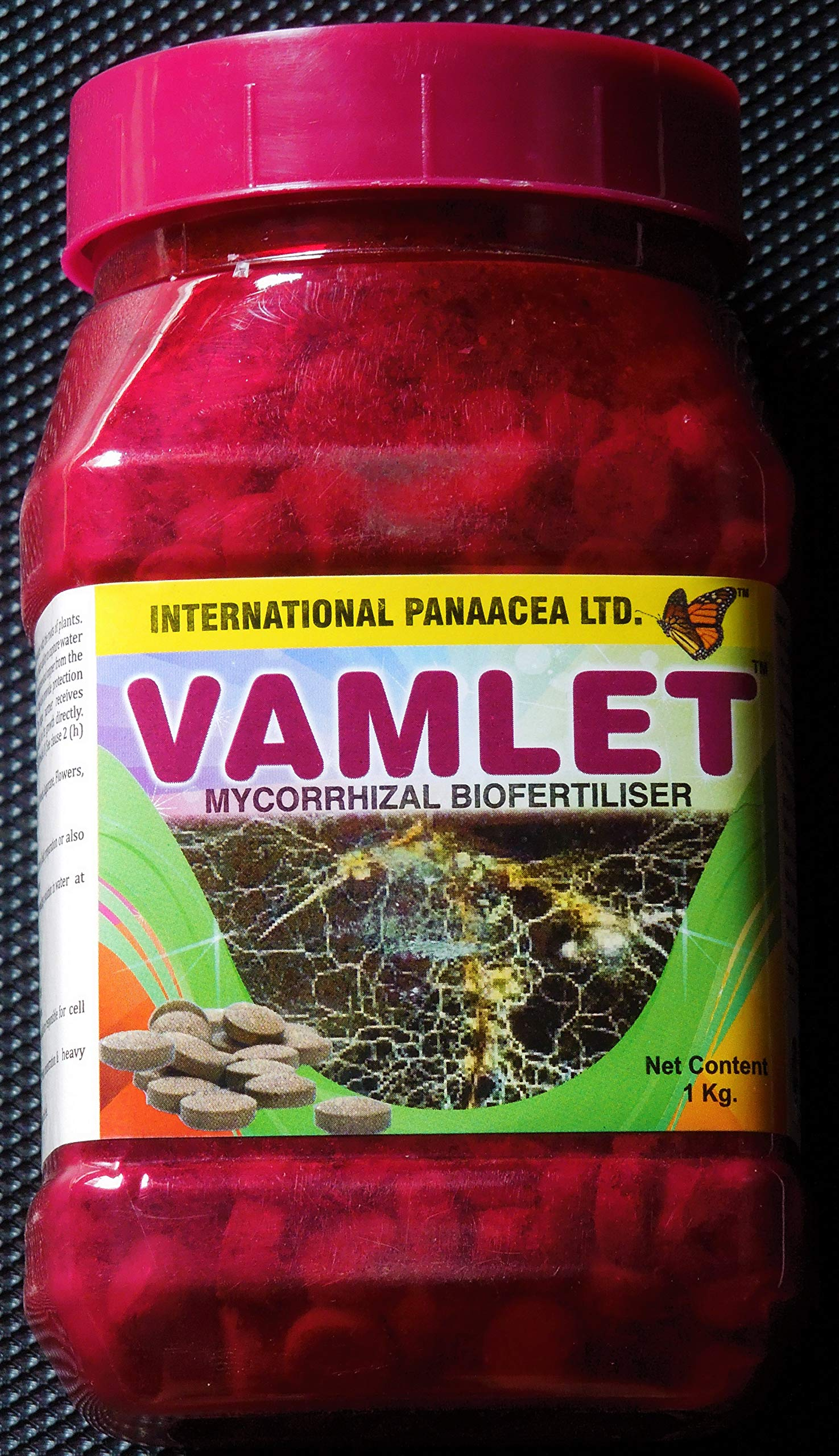 Vamlet Tablets Mycorrhizae Biofertilizer for Plants in a Dry Environment Water Saver Growth Accelerator 2.2 Pound (1 kg) Net Weight by Vamlet