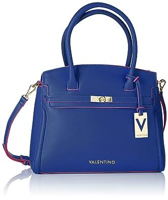 Valentino Bolso Baul - Bolso para mujer, color bluette: Amazon.es: Zapatos y complementos